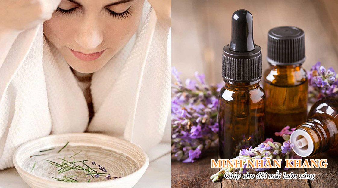 Cách chữa khô mắt bằng đông y sử dụng tinh dầu hoa oải hương